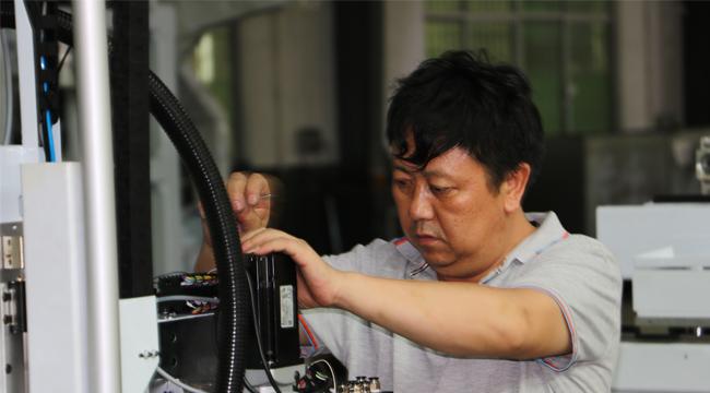 机械手生产细节