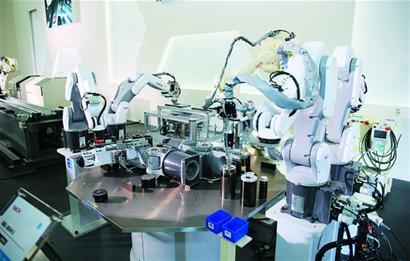 六轴机器人的应用